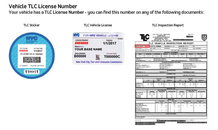tlc license landing - nyc dwv