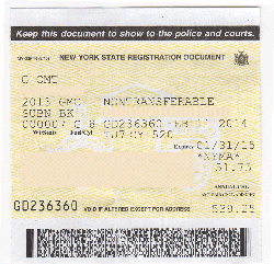 Nys Motor Vehicle Registration Form Ideas
